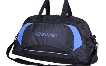 Sportovní taška Alpine Pro černo-modrá
