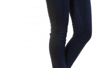 Yes!Miss dámské džíny černomodré 31668