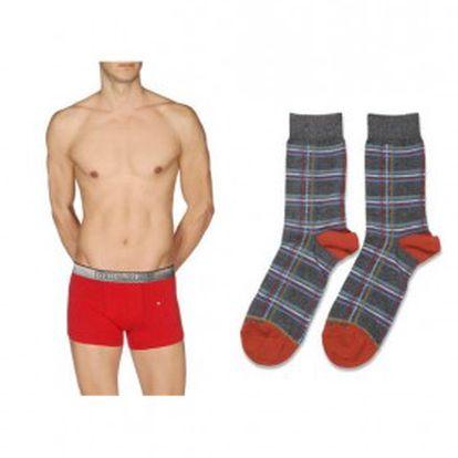 Vánoční sada! Pánské boxerky a ponožky Diesel