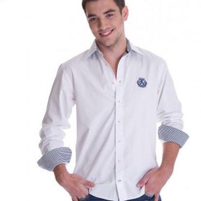 Pánská košile Tommy Hilfiger bílá 40051