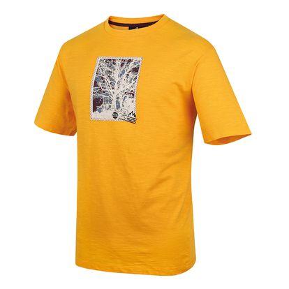 Pánské triko Alpine Pro Kadmos žluté