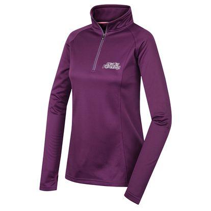 Dámská mikina Alpine Pro Libane tmavě fialová