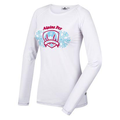 Dámské triko Alpine Pro Ilmi bílé