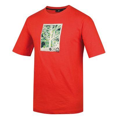 Pánské triko Alpine Pro Kadmos červené