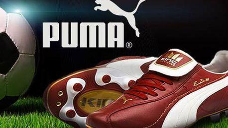 Kožené kopačky Puma King