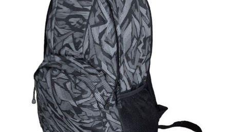 Batoh Alpine Pro černo-šedý vzorovaný