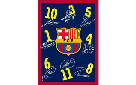 Vopi kusový koberec FC Barcelona, 95 x 133 cm