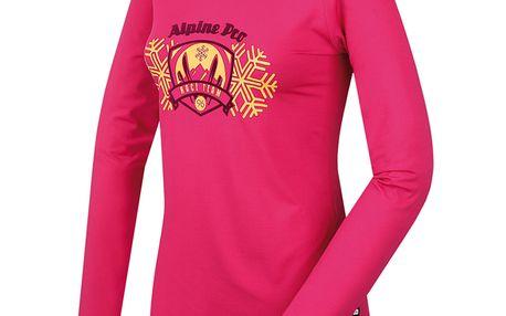 Dámské triko Alpine Pro Ilmi růžové