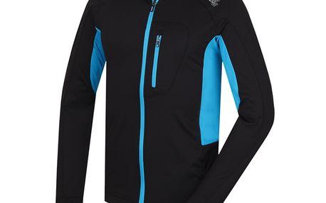 Pánská mikina Alpine Pro černo-modrá
