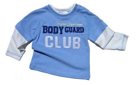Úžasné bílo-modré tričko Club
