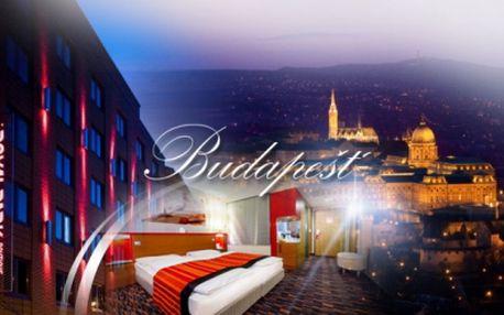 Poznejte překrásnou Budapešť! Exkluzivní pobyt ve 4* hotelu přímo v metropoli Maďarska na 3 DNY pro 2 osoby včetně SNÍDANĚ a maďarského sektu za jedinečných 3390 Kč! Báječná sleva 49% a platnost kuponu 1 ROK!