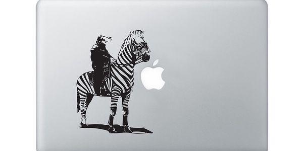 """Samolepka na notebook 15"""" Zebra Police Officer by Banksy"""
