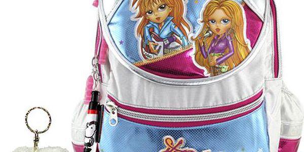 Školní batoh Cool set kuličkové pero a plyšová klíčenka s motivem Sheepworld