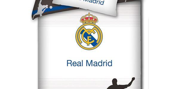 TIP TRADE Povlečení Real Madrid Shadow Bavlna, 140 x 200 cm, 70 x 80 cm