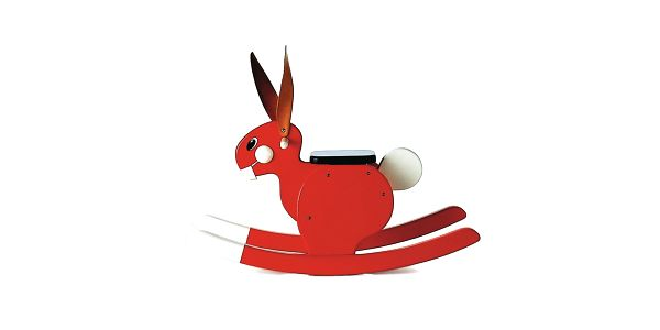 Houpací zajíc Rocking Rabbit Red od Playsam