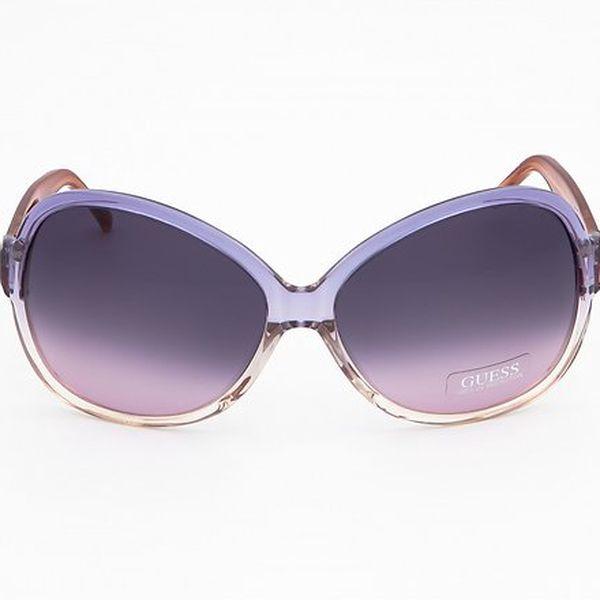 Dámské lila sluneční brýle Guess