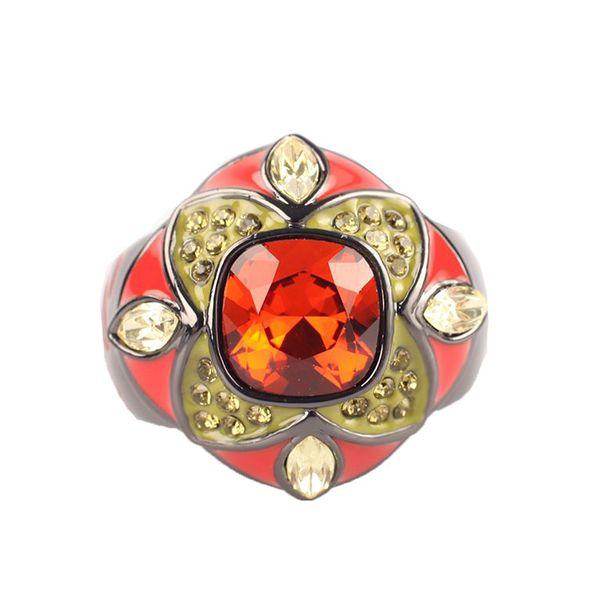 Dámský prsten Guess barevný 49-51