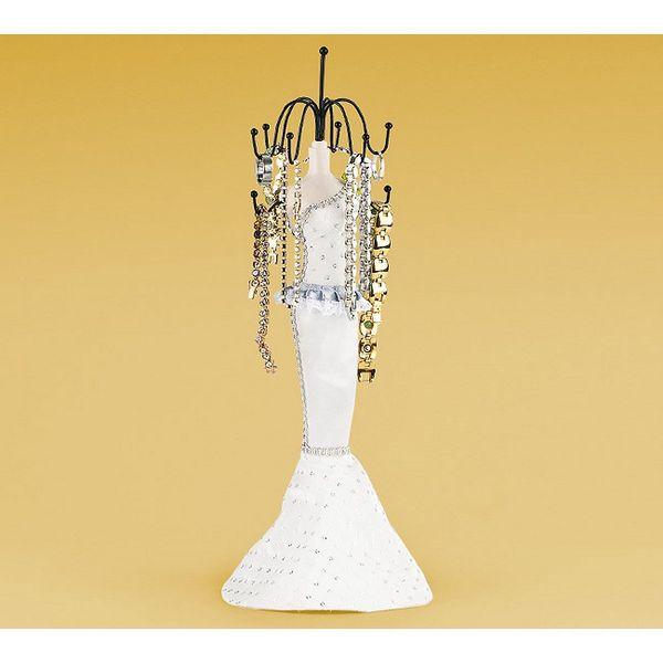 Originální stojánek na šperky ve tvaru dámy