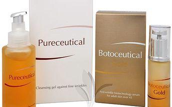 Herb Pharma Botoceutical Gold sérum 25 ml + Pureceutical - čistící gel proti jemným vráskám 125 ml