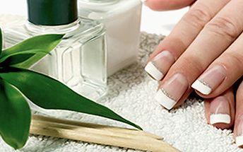 Japonská manikúra P-Shine a parafínové rukavice