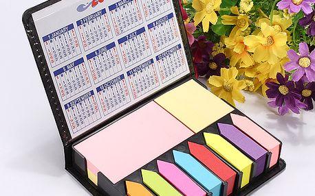 Velká sada barevných bločků s kalendářem a poštovné ZDARMA! - 34206211