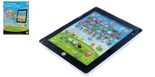 Báječný dárek - dětský tablet - zaujme a naučí základy angličtiny.2