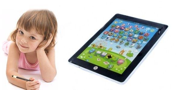 Báječný dárek - dětský tablet - zaujme a naučí zák...