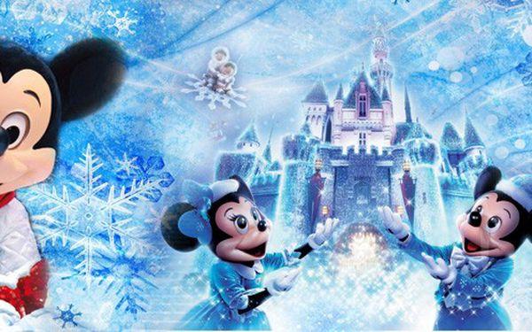 adventní den v Disneylandu