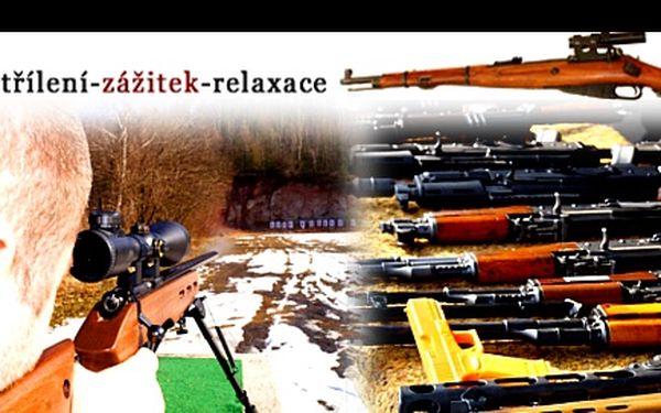 STŘELBA z legendárních zbraní s výběrem ze 4 balíčků se slevou až 68 %: Průřez světem zbraní, Zbraně akčních hrdinů, Zbraně vojenských a policejních jednotek a Economik s výběrem. Originální zážitek pro manžela, tatínka, kamaráda i šéfa, volte DÁRKOVÝ POUKAZ!