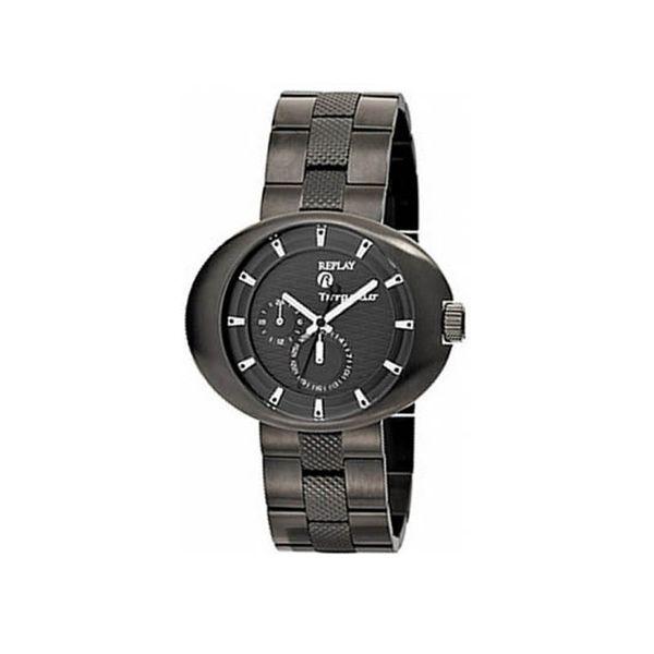 Pánské hodinky Replay antracitové