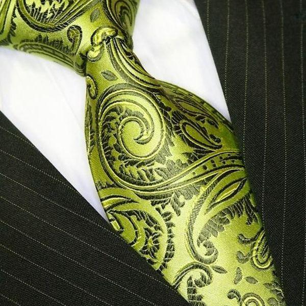Svatební kravata zelená Binder 245