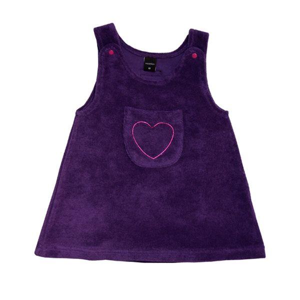 Krásné fialové šatičky se sdíčkem