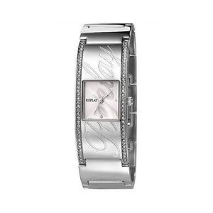 Dámské hodinky Replay stříbrné s kamínky