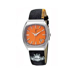 Dámské hodinky Replay černo-oranžové