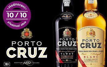 Jedinečné portské víno Porto Cruz