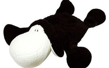 Sheepworld Ovečka černá s kapsou na láhev