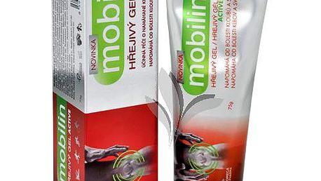 Altermed Mobilin hřejivý gel Active 75 g pomáhá od bolesti při nepřiměřené námaze svalů či naražení zad