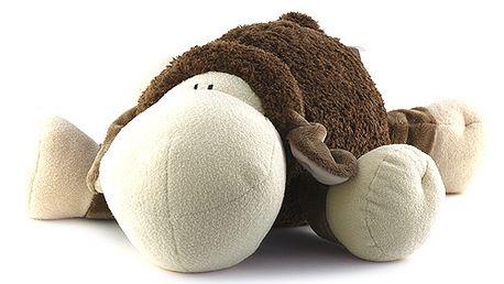 Nádherná plyšová ležící ovečka z kolekce Sheepworld, barva hnědá