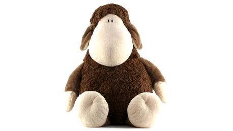 Plyš 65cm Sheepworld Plyš 65cm ovečka hnědá sedící, Sheepworld