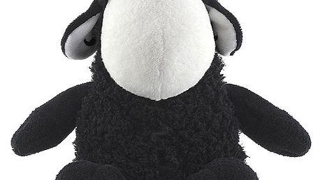 Nádherná plyšová sedící ovečka z kolekce Sheepworld, barva černá, 30cm