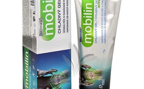 Altermed Mobilin chladivý gel Active 75 g pomáhá od bolesti při nepřiměřené námaze svalů