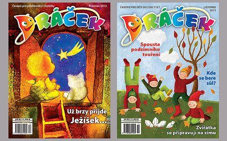 Dětský časopis Dráček - roční předplatné
