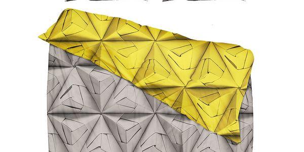 Povlečení Monogami Yellow 200 x 200 cm