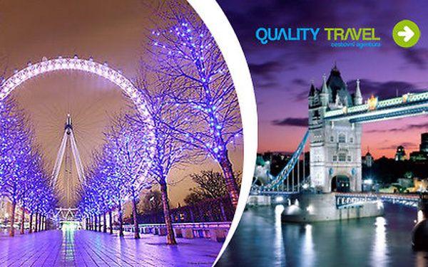 Last Minute 4denní zájezd do Londýna s ubytováním