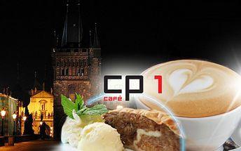 Zpříjemněte si procházku Prahou a zastavte se na 2x CAPPUCCINO a 2x JABLEČNÝ ZÁVIN s vanilkovou zmrzlinou a šlehačkou do kavárny CP1 Café & Bistrot přímo v srdci Starého města, na Praze 1! Nyní jen za 130 Kč, se slevou 50%!