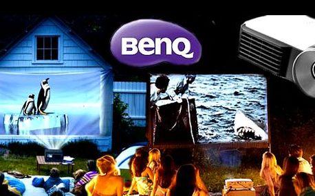 Profesionální projektor BenQ MW712 nebo BENQ MX880UST domů, do školy nebo do práce. Sníte o kině doma? Už nemusíte! Kvalitní projektory se postarají o vynikající obraz v maximálním rozlišení. 10W reproduktor, 3D režim, jas 2500 lumenů, kontrast 3000:1, svítivost 5000/3500 hodin, USB a mnoho dalšího.