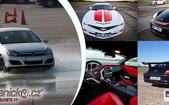 Škola smyku. Naučte se ovládat své auto i v extrémních podmínkách a různých nepředvídatelných situacích.Vhodné pro muže i ženy!