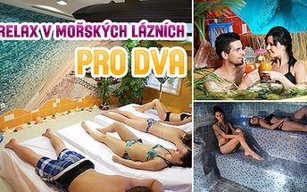 3999 Kč za 3-denní luxusní relax v mořských klimatických lázních pro DVA v Rožnově p.Radhoštěm s ozdravnými procedurami, poznávacím programem ve Skanzenu a ubytováním
