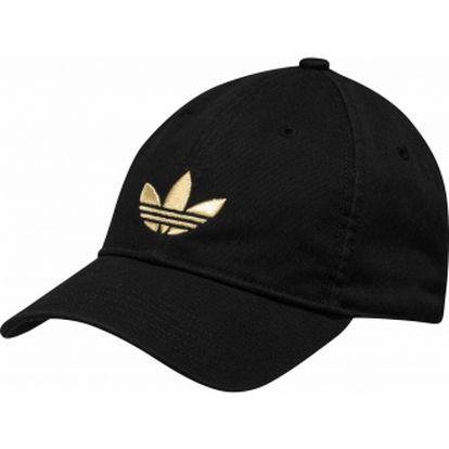 Unisex čepice - adidas adicolor cap black/gold osfm