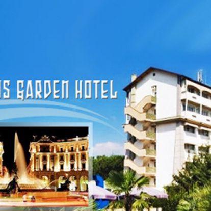 Poznejte ŘÍM! Ubytování na TŘI dny za neodolatelných 3 490 Kč pro dva 4* hotelu Aris Garden včetně bohatého snídaňového RAUTU a denního využití FITNESS a WELLNESS! Poukaz platí 3 roky! S touto nabídkou vedou všechny cesty do ŘÍMA!
